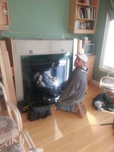 fireplace gary