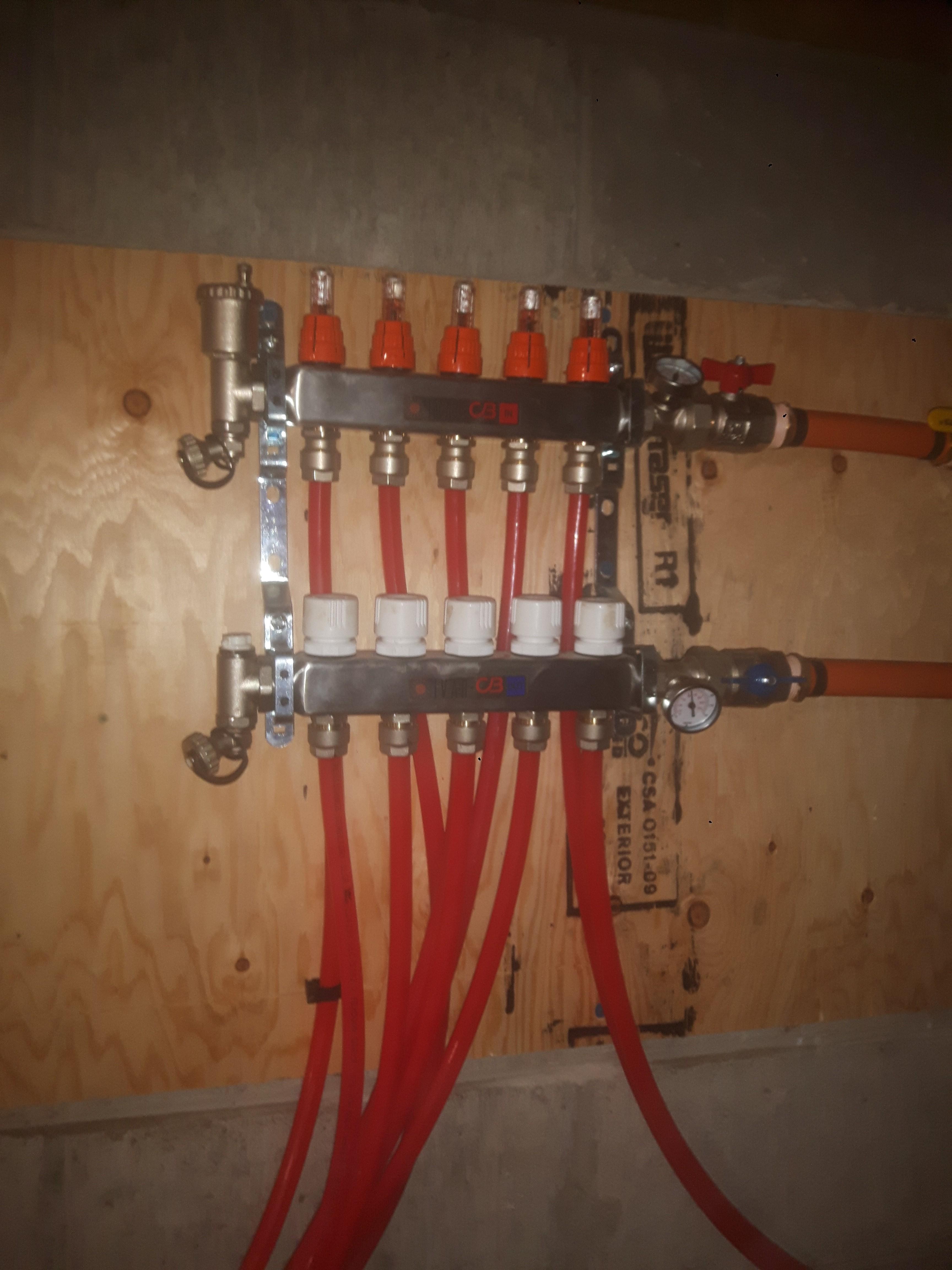 hydronic manifold